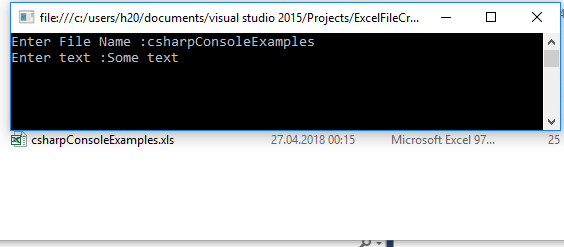 c# console application programs examples