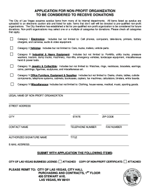 application form for charity registration
