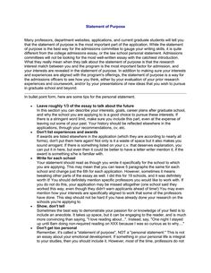 what is a personal statement for a job application