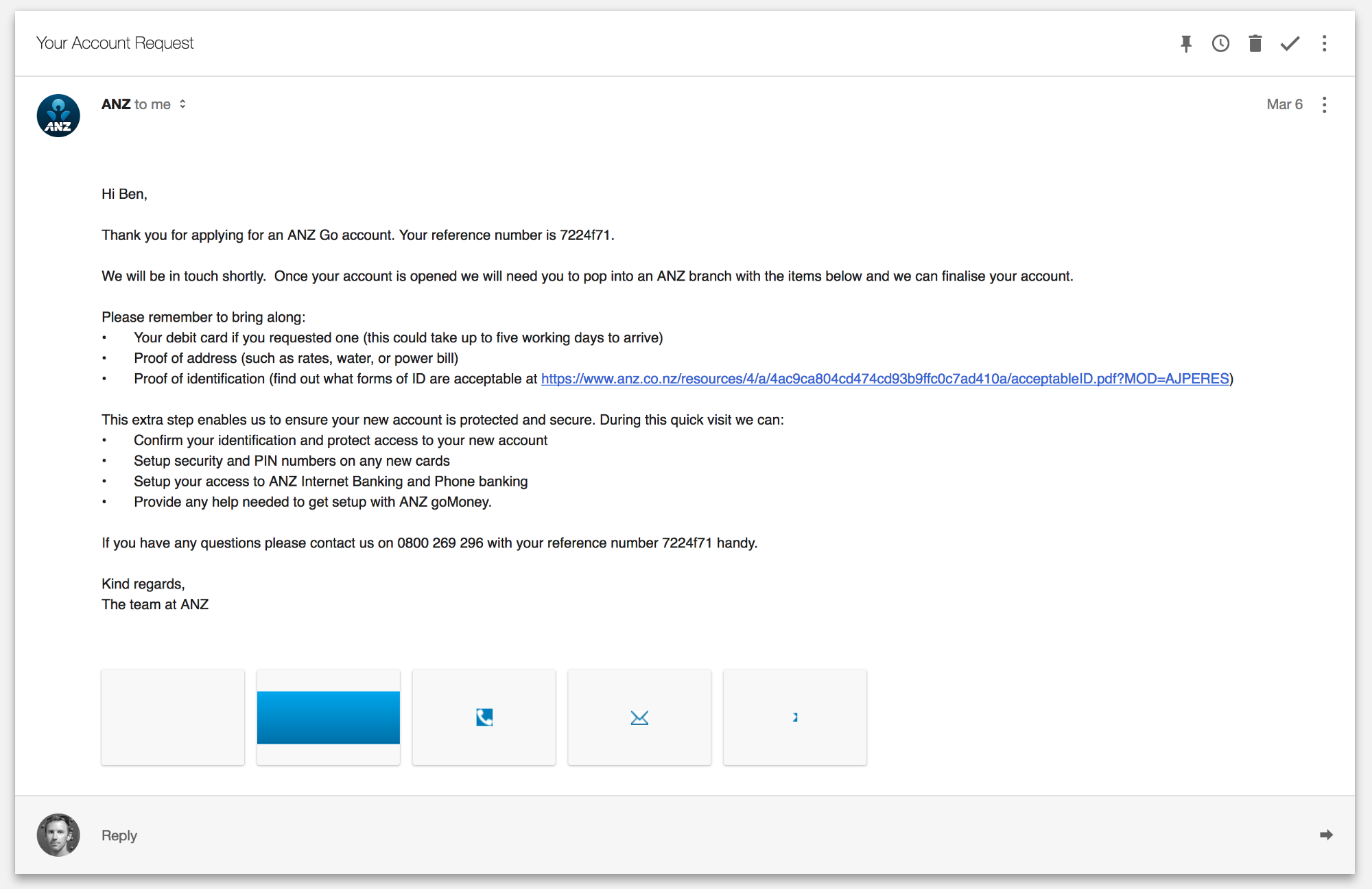 anz png new account application form