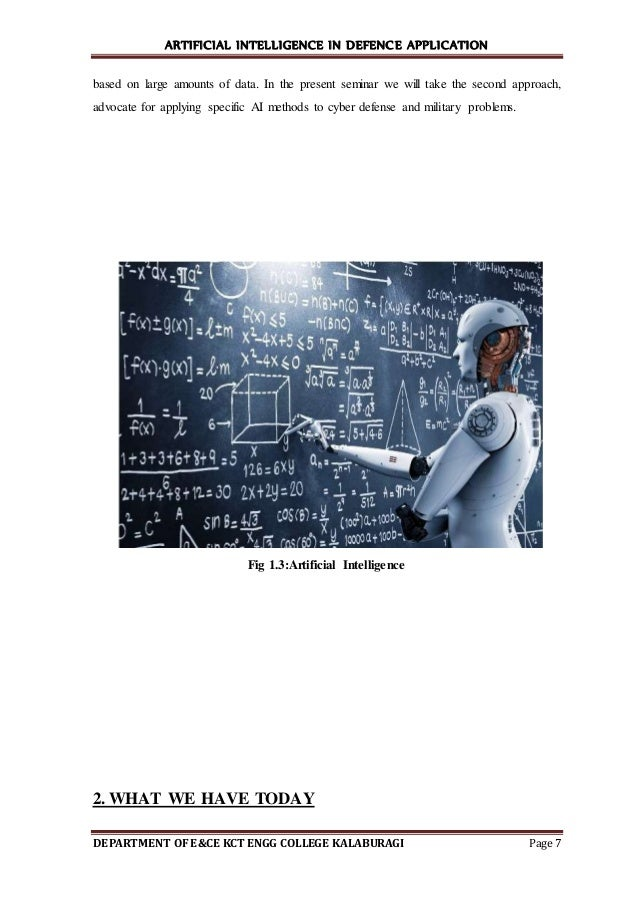 artificial intelligence methods and applications