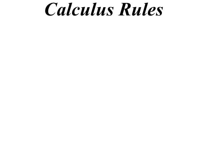 application of calculus in computer science