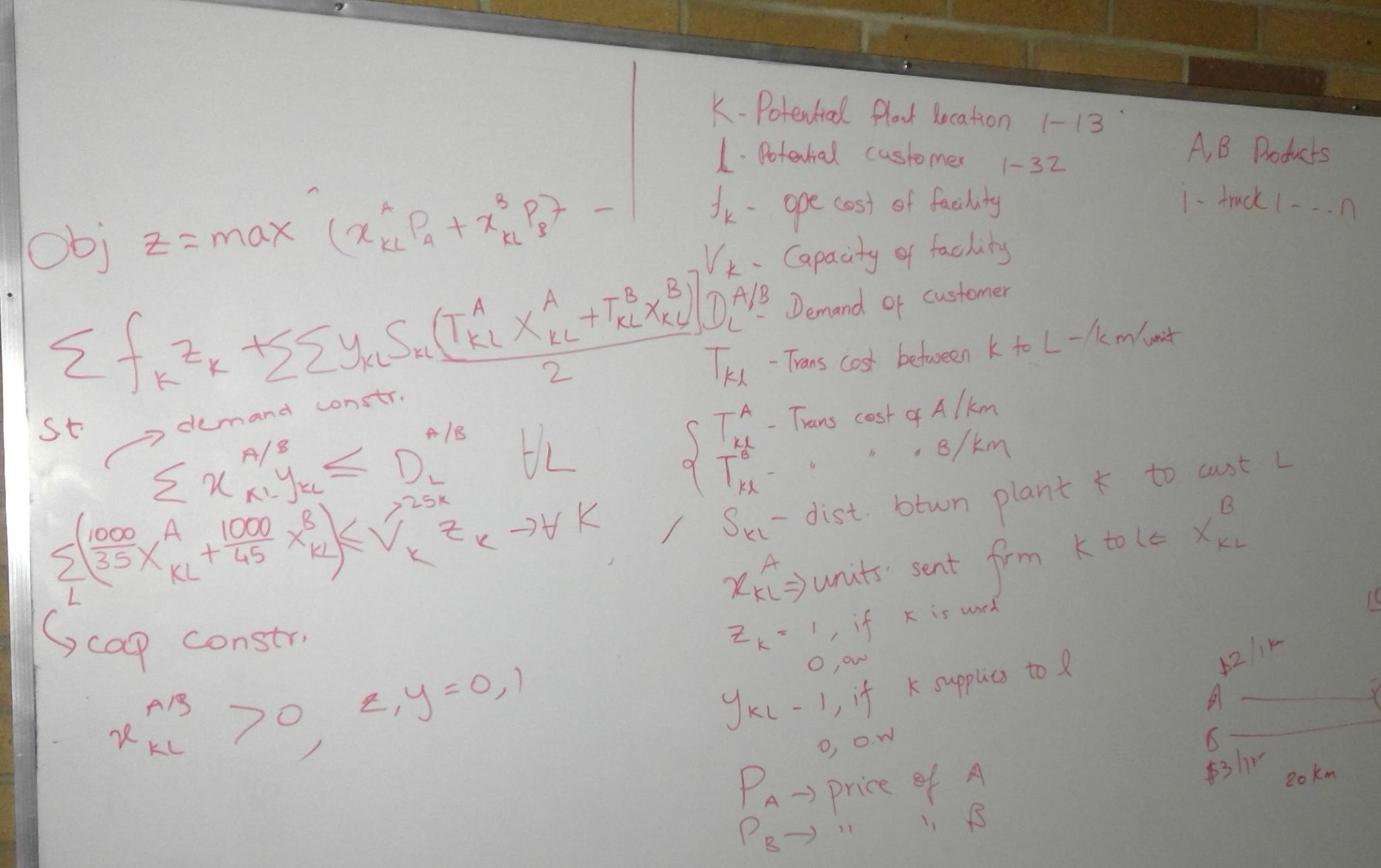 applications of linear and integer programming models